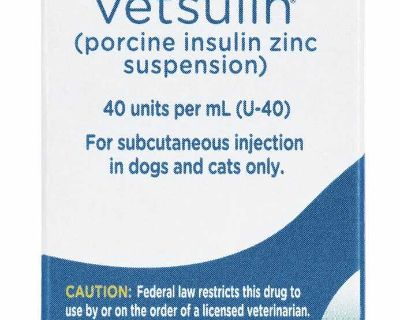 Vensulin Insulin for dogs or cats