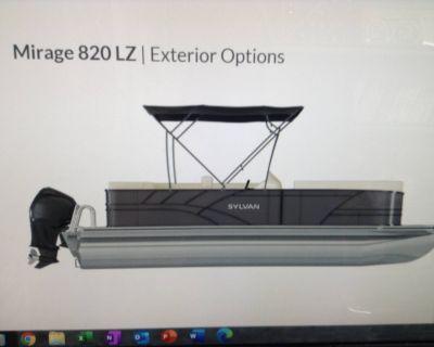 2021 Sylvan Mirage 820LZ Pontoon Boats Hutchinson, MN