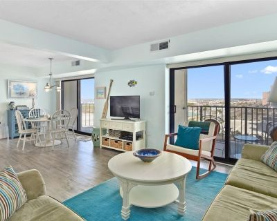 Side Ocean View From This 2 Bedroom 9400 Condo with Outdoor Pool & Gym! - North Ocean City