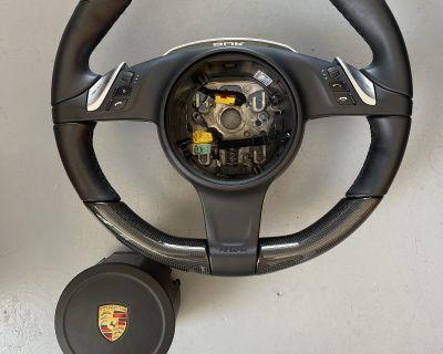 Carbon Fiber PDK Steering Wheel with Air Bag