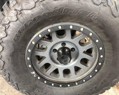 Arizona - Method wheels and bf Goodrich tires