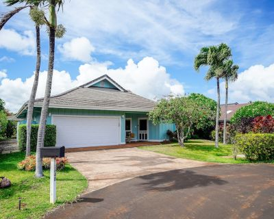 Home Near the Beaches w/ a Washer/dryer, Free Wifi, Shared Pool, Hot Tub, Tennis - Poipu