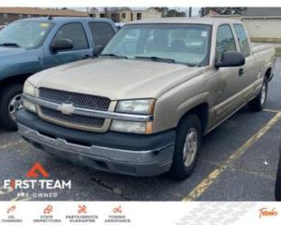 2004 Chevrolet Silverado 1500 LS Extended Cab Standard Box 2WD