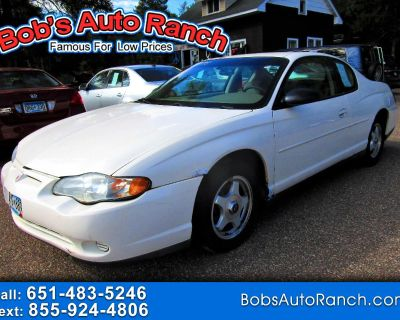 Used 2003 Chevrolet Monte Carlo 2dr Cpe LS