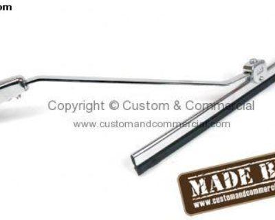 Wiper Arm & Blade Kit Stainless Steel Chromed