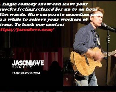 Corporate Comedian - Jason Love