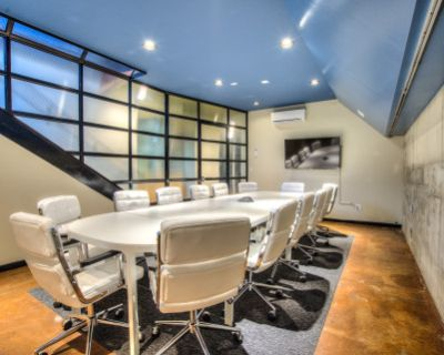Industrial Chic 12-Person Conference Room, Denver, CO