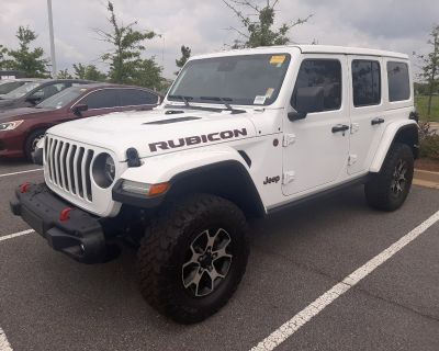 Pre-Owned 2020 Jeep Wrangler Unlimited Rubicon 4WD Convertible
