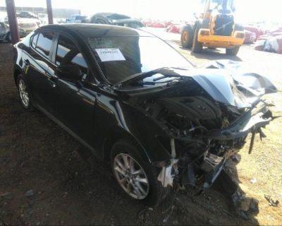 Salvage Black 2015 Mazda Mazda3