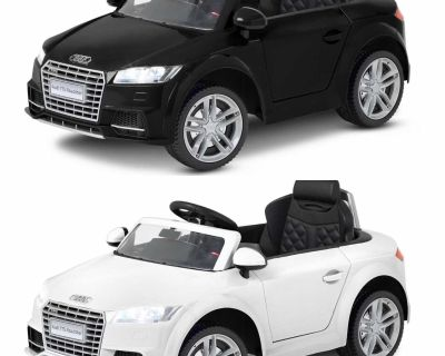 BNIB Audi TT Roadster 6V Ride On Toy Car for age 3 to 7 years