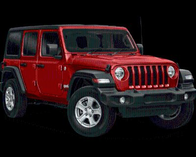 New 2021 Jeep Wrangler Unlimited Willys 4WD 4D Sport Utility