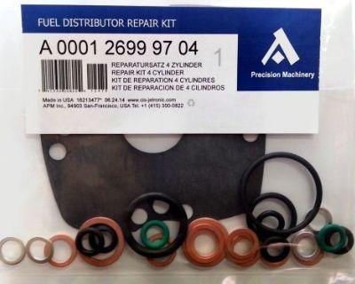 0438101002 Repair Kit For Bosch Fuel Distributor Mercedes 190e, 200e, 230ge