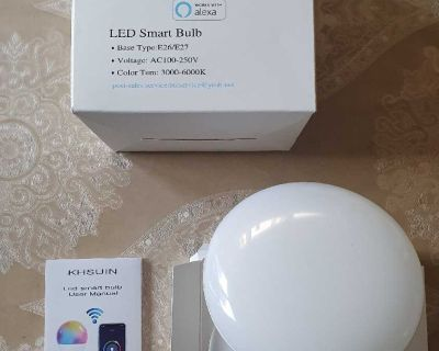 LED Smart Bulb ( NOTE CROSSPOSTED)