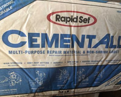 Free bags of cement