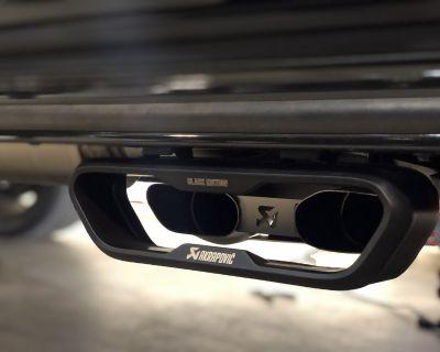 Akrapovic Evolution Titanium Black Edition Exhaust Mercedes Benz G63 AMG