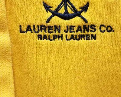 Ralph Lauren hooded sweat jacket, Size: S