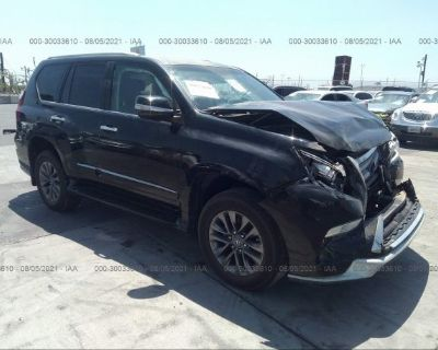 Salvage Black 2018 Lexus Gx
