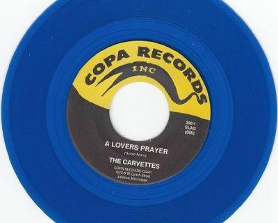CARVETTES ~ A Lover's Prayer*Mint-45*RARE BLUE WAX !