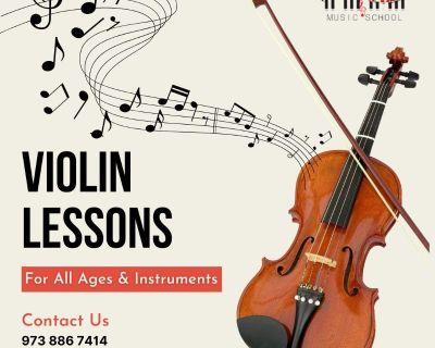 Violin Lessons NJ