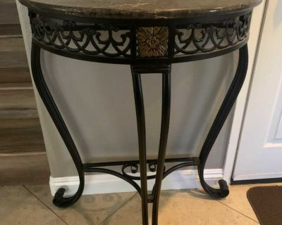 Beautiful marble side table
