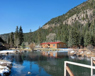 Spacious waterfront cabin w/hot tub, furnished deck & wood stove - South Fork