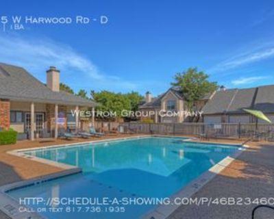 815 W Harwood Rd #D, Hurst, TX 76054 1 Bedroom Condo