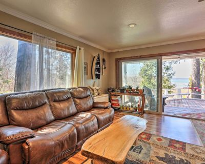 NEW! Authentic Waterfront Escape on Lake Almanor! - East Shore
