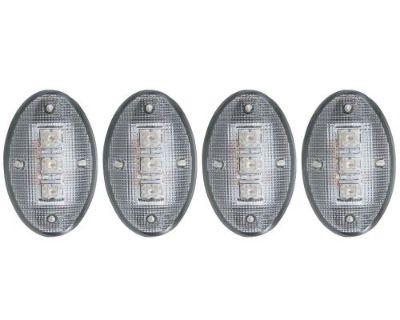 Anzo Usa 861079 Led Dually Fender Lights Fits F-350 Super Duty F-450 Super Duty
