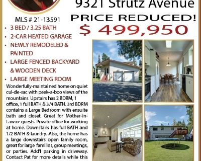 PRICE REDUCED! 3 BR & 3.23 BATH w/ Large Family Room & Office!