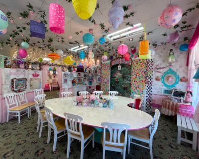 Enchanting Fantasy Princess Dollhouse Tea Room, Lomita, CA