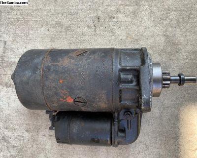 Bosch starter 12v