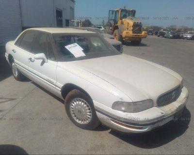 Salvage White 1998 Buick Lesabre