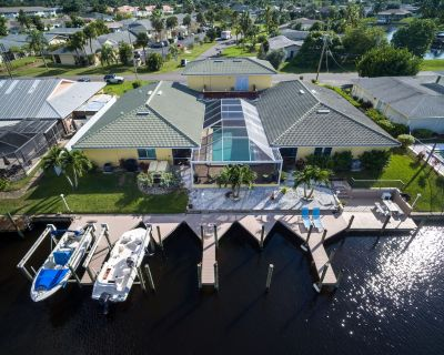 Amazing GULF ACCESS # A 3 bedroom w/ Heated pool and Boat Slip! - Caloosahatchee