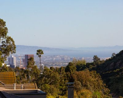 Getty view in Belair, Los Angeles, CA