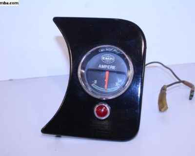 NOS EMPI AMP Gauge & Panel