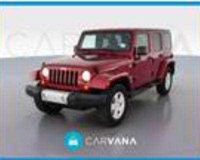 2012 Jeep Wrangler Red, 96K miles