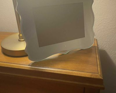 Glass Mirrored Frame
