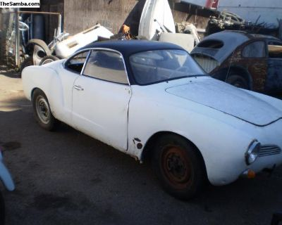 Parting out 1968 ghia