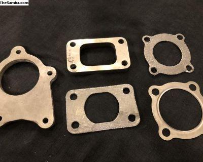 Turbo Gaskets & Flanges - Graphite/Steel