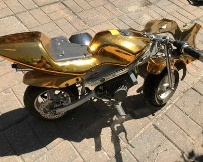 50cc Pocket Bike with accessories. motorcycle 2 stroke
