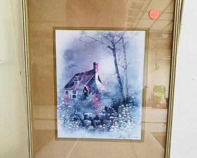 Cottage in the Woods Picture 12 x 16