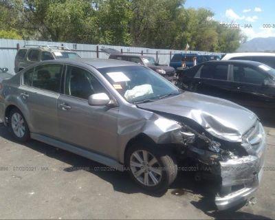 Salvage Silver 2011 Subaru Legacy