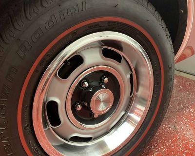 "14"" Rallye I wheel OE brushed trim ring"