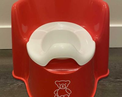 Baby Bjorn Red Potty Chair