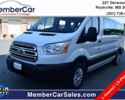 "2019 Ford Transit Passenger Wagon T-350 XLT with Swing-Out RH Door 148"" Low Roof"