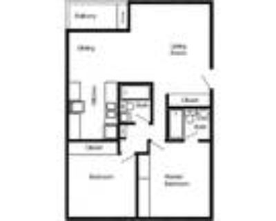 Thunderbird Townhomes and Apartments - 2 Bedroom 2 Bath Apartment
