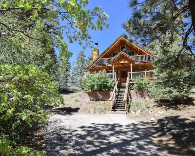 Knotty by Nature: Wood Burning Fireplace! Close to Bear Mountain! Pet Friendly! Wood Floors! - Upper Moonridge
