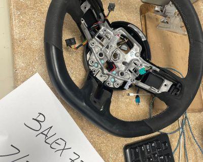 GT350 steering wheel