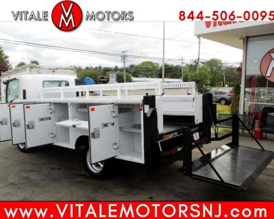 Used 2008 GMC W5500-HD CABOVER SERVICE BODY TRUCK, DIESEL