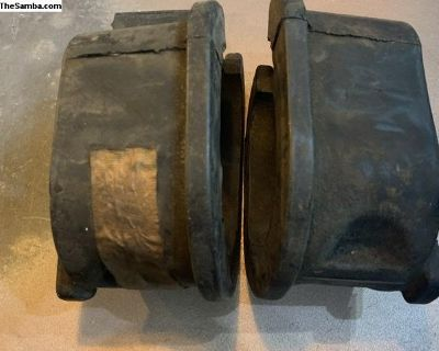 NOS front beam lower collar rubber